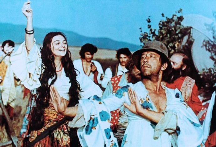 Das Zigeunerlager Zieht In Den Himmel