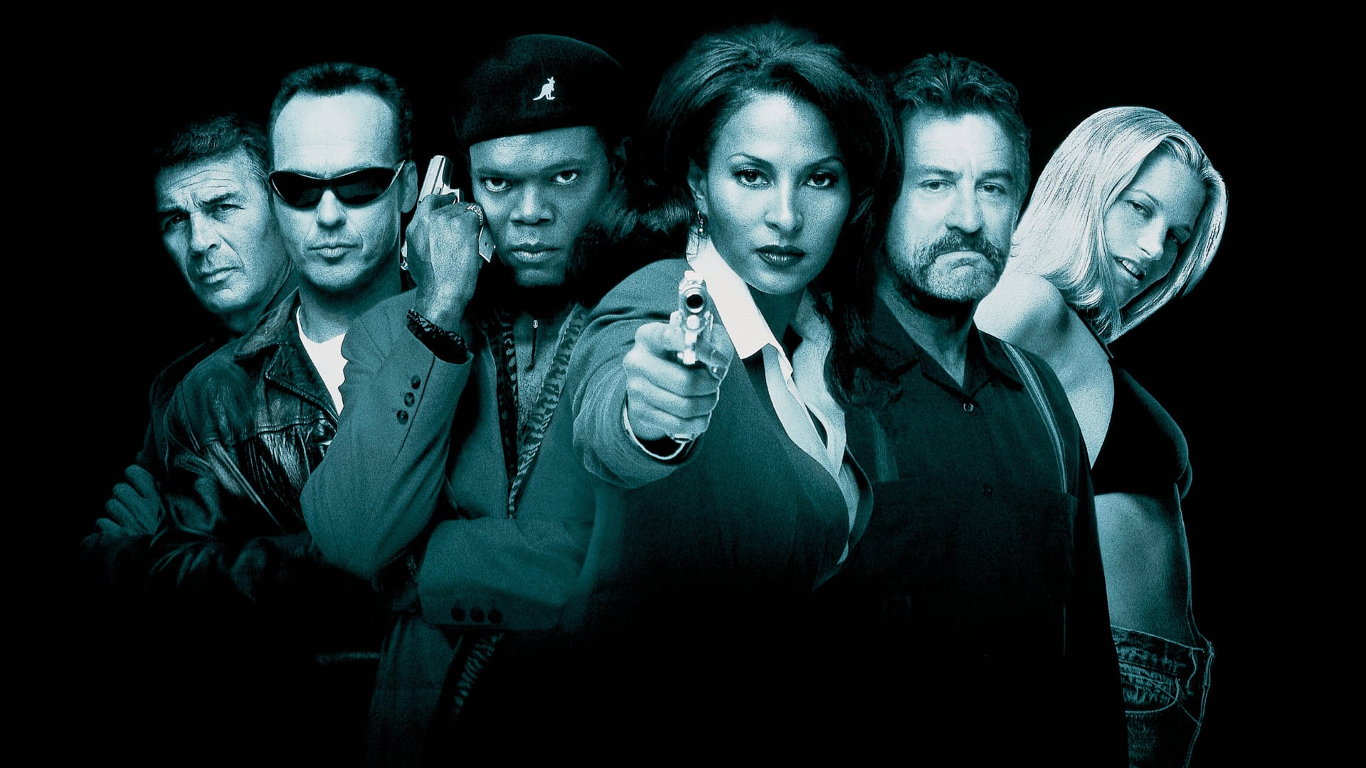 Jackie Brown poster - Arriving on Netflix in August