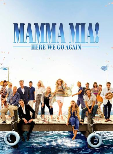 Mamma Mia! Here We Go Again Poster (Source: themoviedb.org)