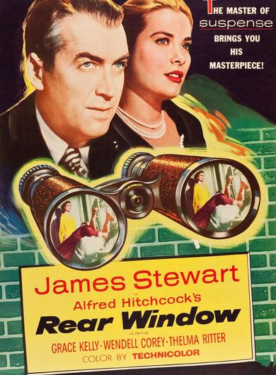 Rear Window Poster (Source: themoviedb.org)