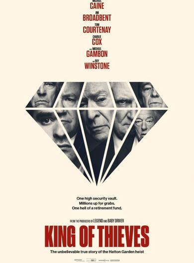 King of Thieves Poster (Source: Working Title)