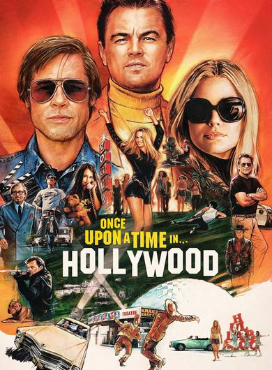 Once Upon a Time in Hollywood Poster (Source: themoviedb.org)