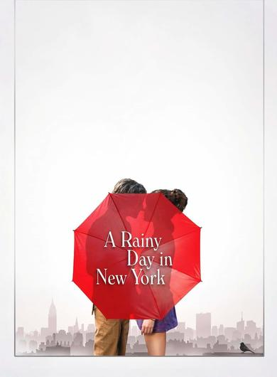 A Rainy Day in New York Poster (Source: themoviedb.org)